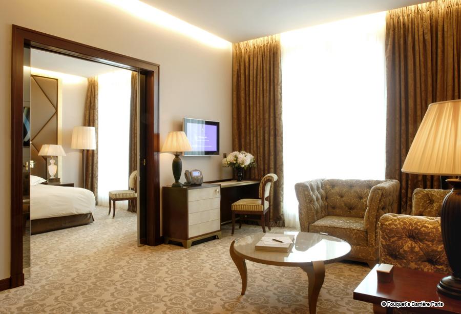 Hotel Fouquets Barrière Paris Luxushotels 5 Sterne