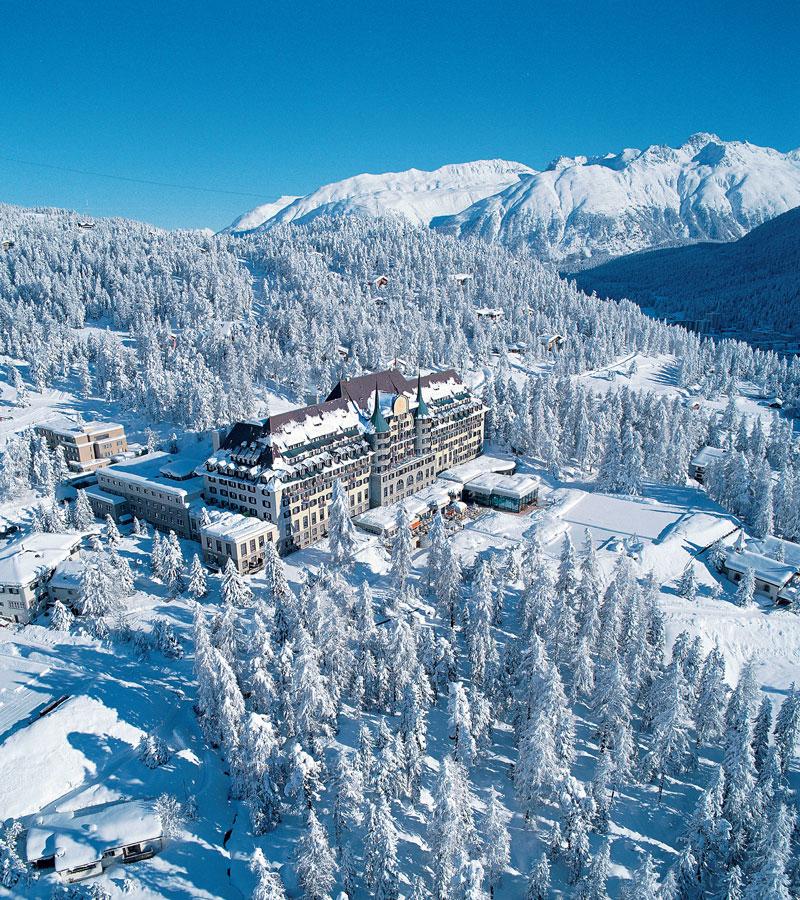 Hotel St Moritz Luxushotel 5 Star Luxe Suisse Sterne Switzerland