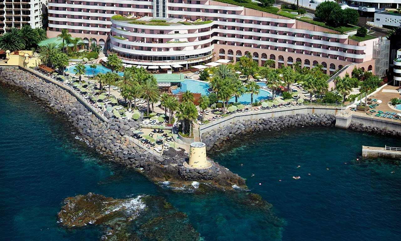The Cliff Bay Hotel Madeira Thomson